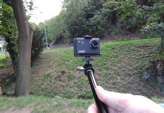 Akční kamera Lamax Mira X7, akce