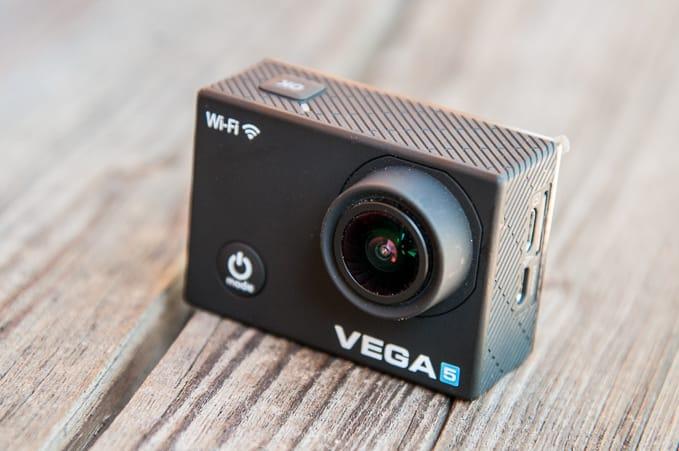 Akční kamera Niceboy Vega 5 přední strana