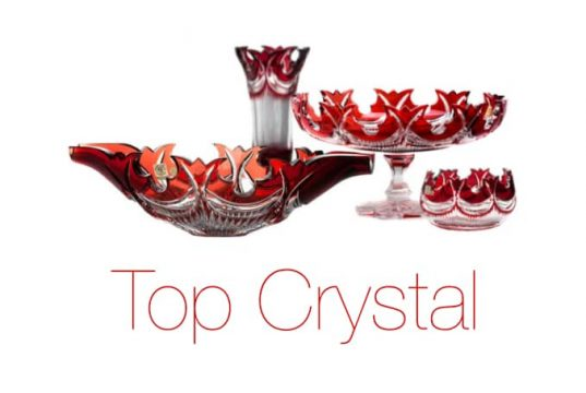 Top Crystal, eshop, online, český křišťál