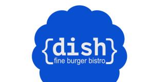legendární dish burger bistro, hamburger, Praha