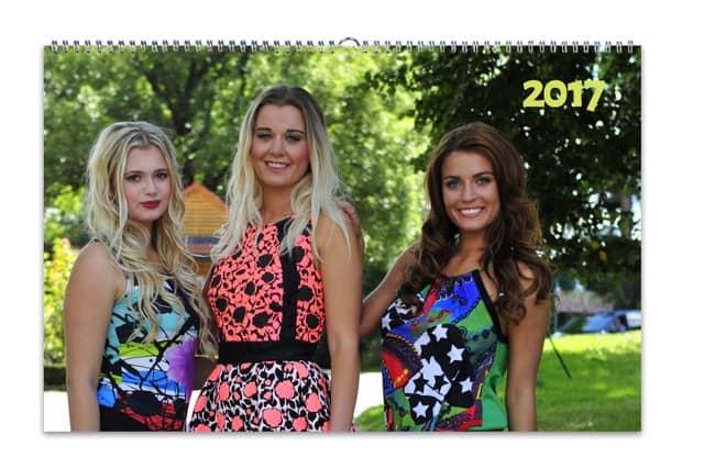 HappyFoto kalendář, fotokalendáře dívky