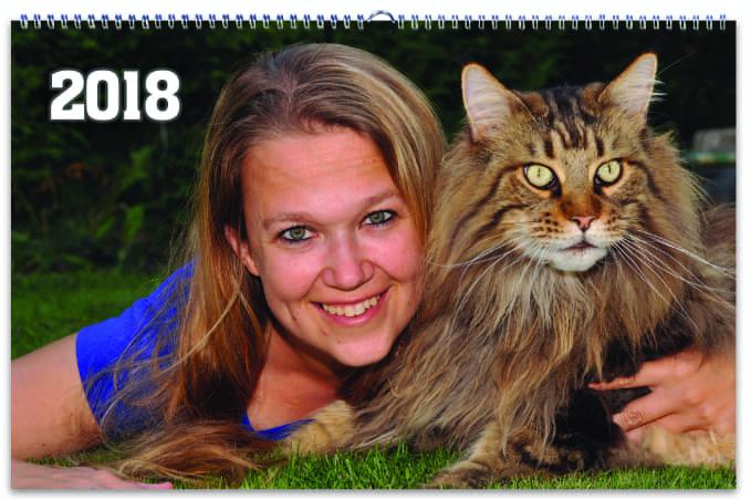 Fotokalendář od Happy Foto, kočka