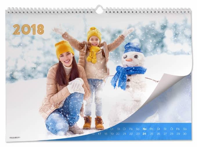 Fotokalendář od Happy Foto, zima