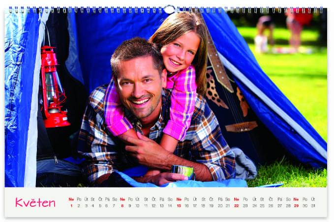 Fotokalendář od Happy Foto, rodiče a děti