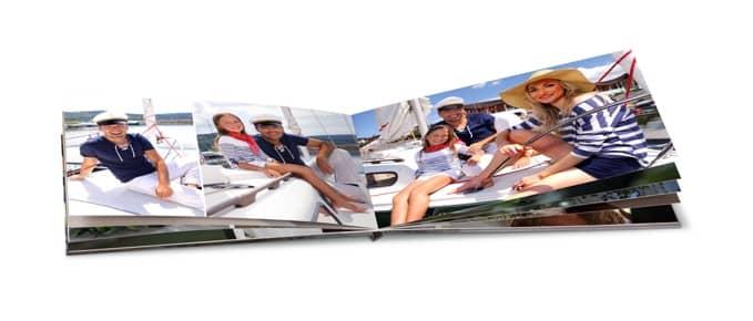 Fotokniha, výroba fotoknihy v mobilu, dovolená, moře
