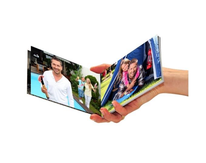 Fotokniha, výroba fotoknihy v mobilu, dovolená, moře, fotokniha do kapsy