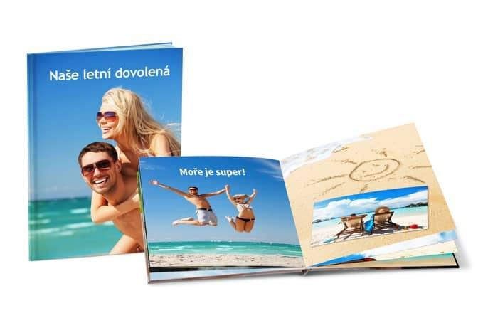 Fotokniha, výroba fotoknihy v mobilu, dovolená, moře, dovolená u moře