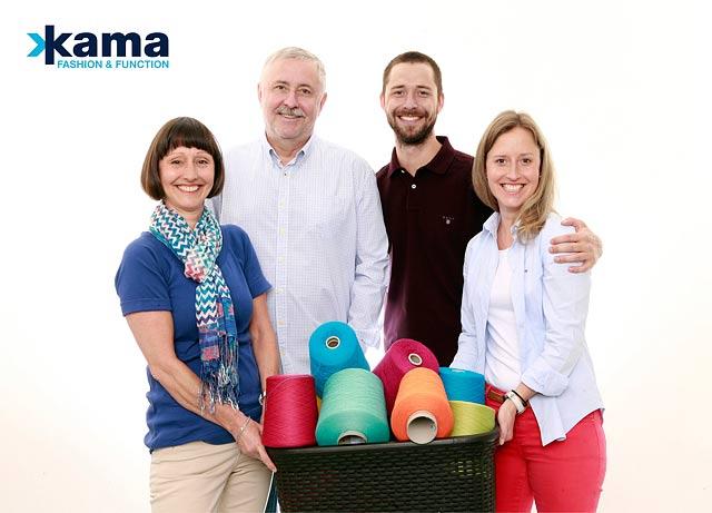Oblečení Kama, čepice, svetry, rodina Pertlova