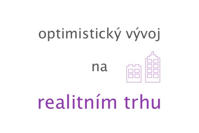 Optimistický vývoj na realitním trhu, reality