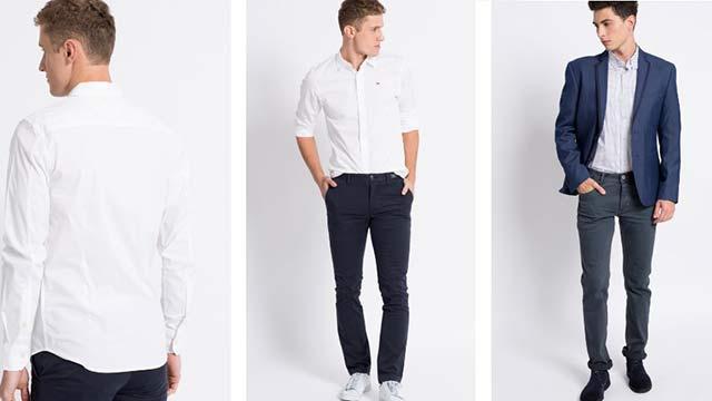 Pánské košile, saka, elegantní obleky