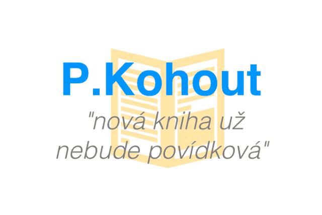 Pavel Kohout nová kniha povídek