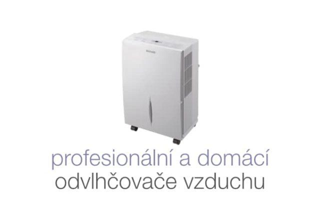 Profesionální a domácí odvlhčovače vzduchu