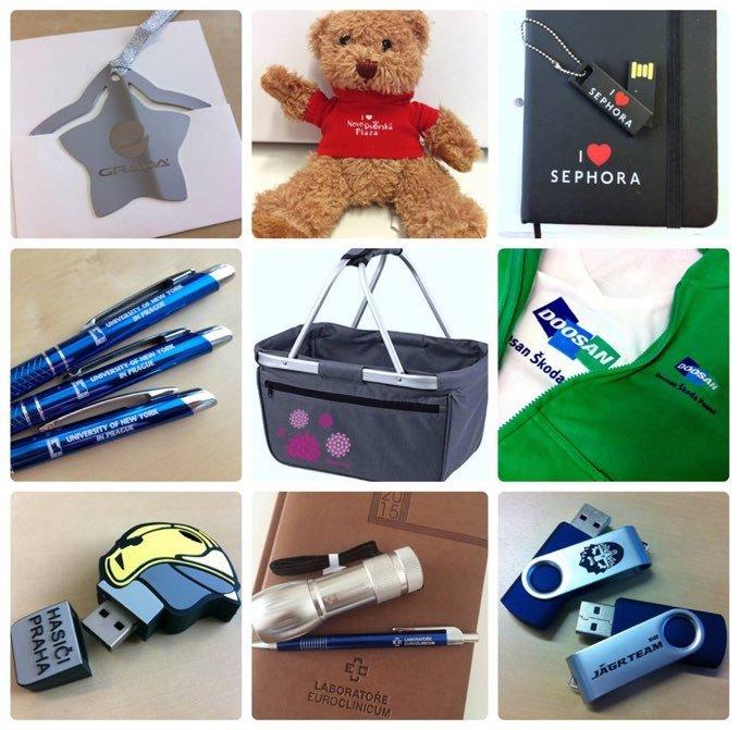 Propaq, reklamní předměty, potisk triček, prodej reklamních předmětů, kalendáře, diáře