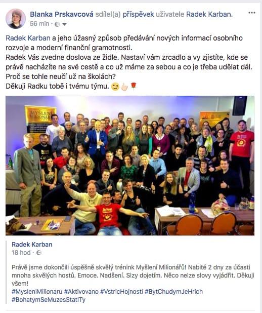 Radek Karban facebook