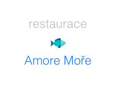 Restaurace Amore Moře