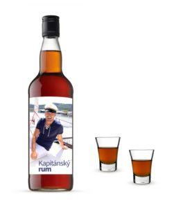 Svátek otců, etiketa na rum