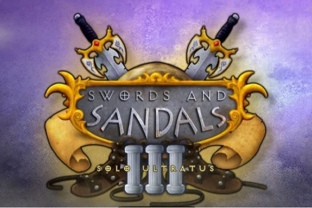 Sword and Sandals 3, online hra, nej a free