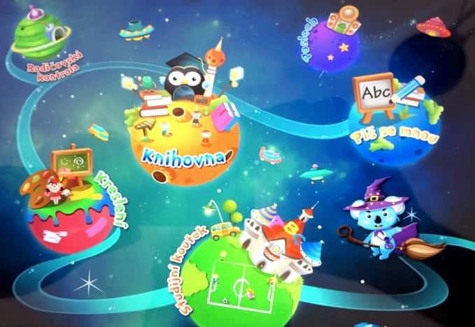 True4Kids SmartPark zábavné a efektivní vzdělávání dětí, tablet ipad