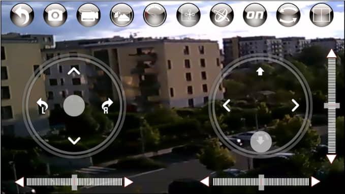 ukázka přenosu live videa do zařízení