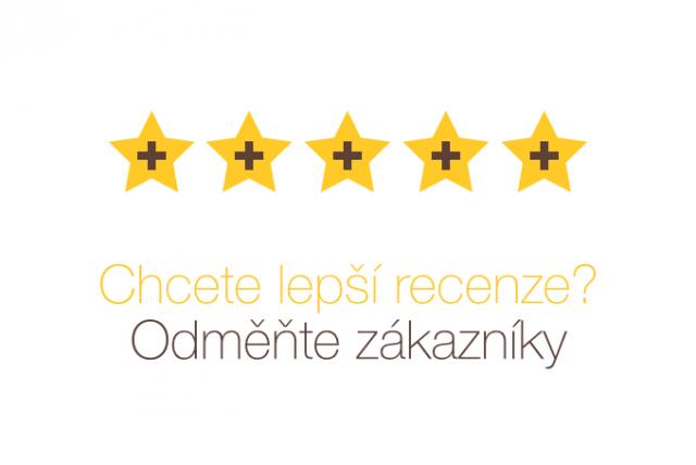 Odměňte zákazníky, zákaznická recenze