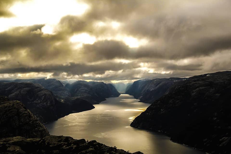 Do Norska na dovolenou, úchvatná krajina