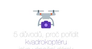 Kvadroptéra, dron jako vánoční dárek