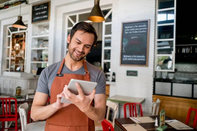 Mobilní číselník, terminál pro restaurace a EET pokladna