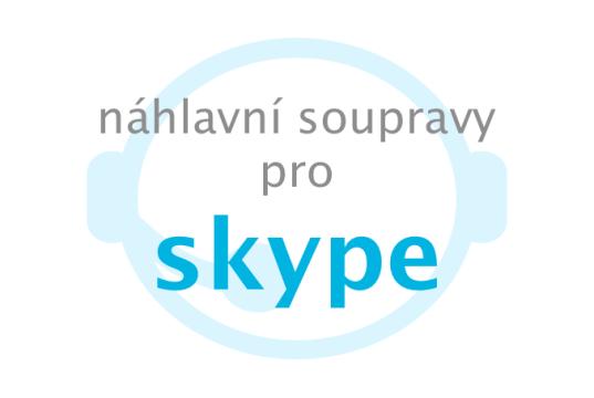 Náhlavní soupravy pro Skype