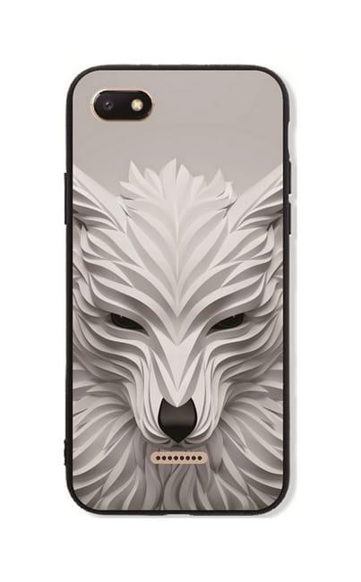 Skleněná pouzdra na mobil vlk