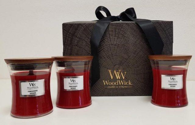 Valentýnský balíček WoodWick
