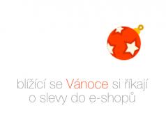 Blížící se Vánoce si říkají o slevy do e-shopů
