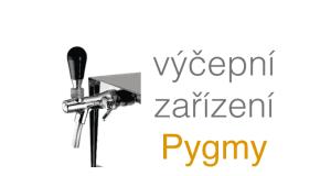 Výčepní zařízení pygmy, pivo a pípa