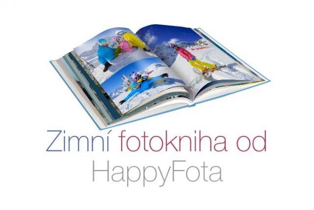 Zimní fotokniha od HappyFota